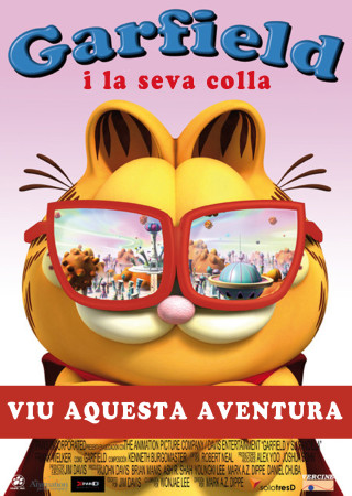 Garfield i la seva colla